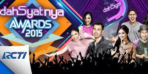 Daftar Pemenang Dahsyatnya Awards 2015