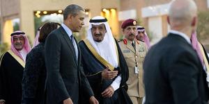 Dengar Azan, Raja Salman Tinggalkan Obama untuk Shalat