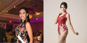 Elvira Devinamira Cantik Pakai Batik Sumenep di Miss Universe 2015