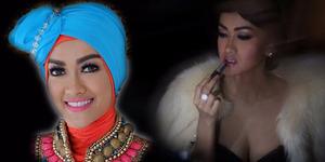 Foto Cantiknya Julia Perez Pakai Hijab Dian Pelangi