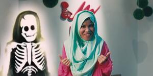 Hodijah Disetrum Jadi Tengkorak di Trailer Terbaru Hijab