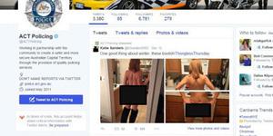 Kepolisian Australia Posting Foto Mesum di Akun Twitter Resminya