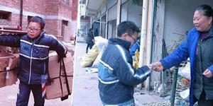 Kisah Bocah Tiongkok Jadi Pemulung Demi Biaya Operasi Ayahnya