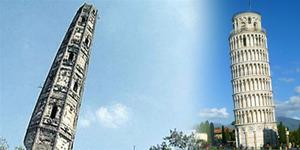 Menara Huzhu di Shanghai Lebih Miring dari Menara Pisa