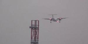 Pendaratan Mengerikan Pesawat di Tengah Angin Ganas!
