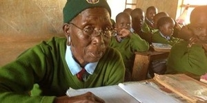 Priscilla Sitienei, Pelajar SD Tertua Berusia 90 Tahun
