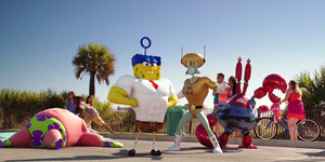 Aksi SpongeBob Cs Jadi Superhero di Trailer Spongebob: Sponge Out of Water