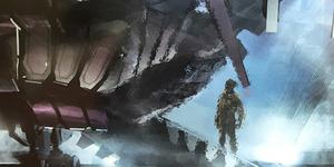 Bocoran Gambar Pesawat Alien di X-Men: Apocalypse