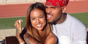 Chris Brown-Karrueche Tran Sering Phone Sex!