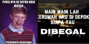 Depok Dibully, Netizen Bikin Meme 'Depok Kota Begal'