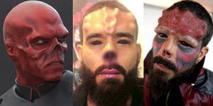 Fans Captain America Potong Hidung Agar Mirip Red Skull