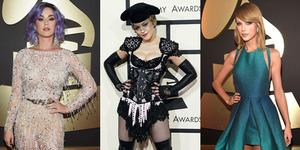 Fashion Unik Para Artis di Grammy Awards 2015