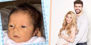 Foto Imut Sasha, Putra Kedua Shakira-Gerard Pique