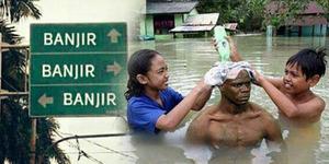 Foto: Meme Kocak Banjir Jakarta