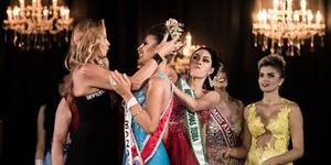 Kalah, Sheislane Hayalla Ngamuk di Panggung Miss Amazonas 2015