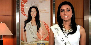 Maria Harfanti Miss Indonesia 2015