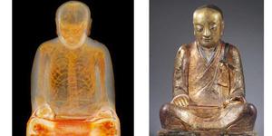 Patung Buddha Berusia 1.000 Tahun Berisi Mumi Biksu