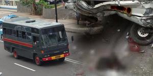 Pelajar SMKN 15 Jakarta Tewas Diserempet Bus Polisi