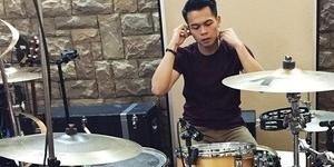 Rio Alief Radhanta, Drummer Sementara NOAH Pengganti Reza