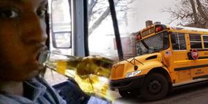 Selfie Nenggak Bir, Sopir Bus Sekolah Dipecat