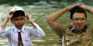 Tuding Banjir Jakarta Karena Sabotase, Ahok Menuai Kecaman