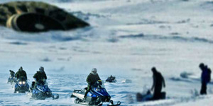 Video Detik-Detik Jatuhnya UFO di Danau Kanada