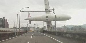 Video Detik-detik Pesawat TransAsia Jatuh