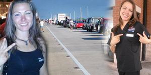 Wanita Menari Bugil di Jalanan Bikin Macet Ditangkap Polisi