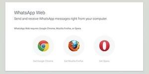 WhatsApp Web Hadir di Firefox & Opera