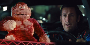 Adam Sandler Lawan Karakter Video Game di Trailer Pixels