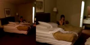 Aksi Suami Gerebek dan Rekam Istri Selingkuh di Kamar Hotel