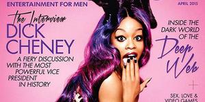 Azealia Banks Pose Seksi di Majalah Playboy