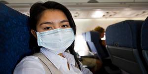 Bahaya Naik Pesawat Saat Flu