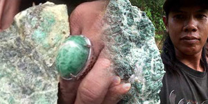 Temuan Batu Giok 1 Km di Kalsel Ternyata Batu Alam Biasa
