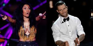 Duet Maroon 5-Nicki Minaj di Sugar Versi Remix