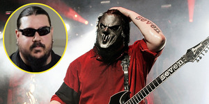 Gitaris Slipknot Mick Thomson Kepalanya Ditusuk Adik Sendiri
