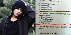 Heboh Soal Ujian 'Siapa Aktor Ganteng Ganteng Serigala?'