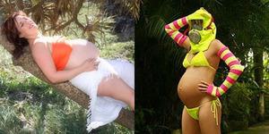 Aksi Gila Para Ibu Hamil