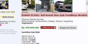 Iklan Rumah Bisa Nikahi Pemiliknya Hebohkan Netizen