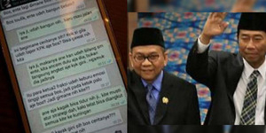 Isi SMS Panik Lulung dan Taufik Soal Ahok Lapor KPK
