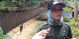Jembatan Gantung Putus, Bupati Lebak Salahkan Siswa SD