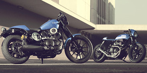 Kerennya Yamaha XV950R Racer