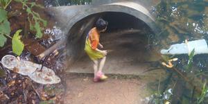 Kondom Bekas Berserakan di Taman Bermain Anak di Bekasi