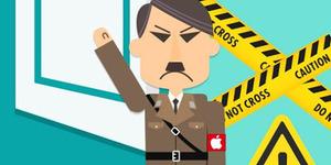Media China Samakan Apple dengan Adolf Hitler