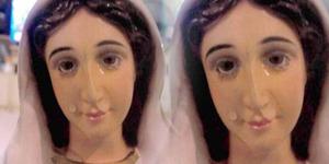 Patung Bunda Maria Menangis Dimintai Doa Warga Filipina
