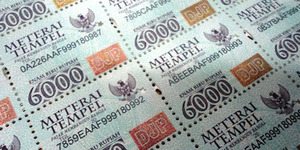 Pemerintah Naikkan Pajak Materai Sampai 300 Persen