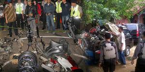 Polisi Depok Gerebek Markas Penadah Motor Hasil Begal