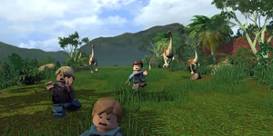 Trailer Game Lego Jurassic World