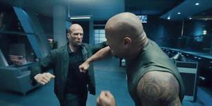 Video Pertarungan Jason Statham-The Rock di Furious 7
