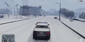 Ada Salju di GTA V PC